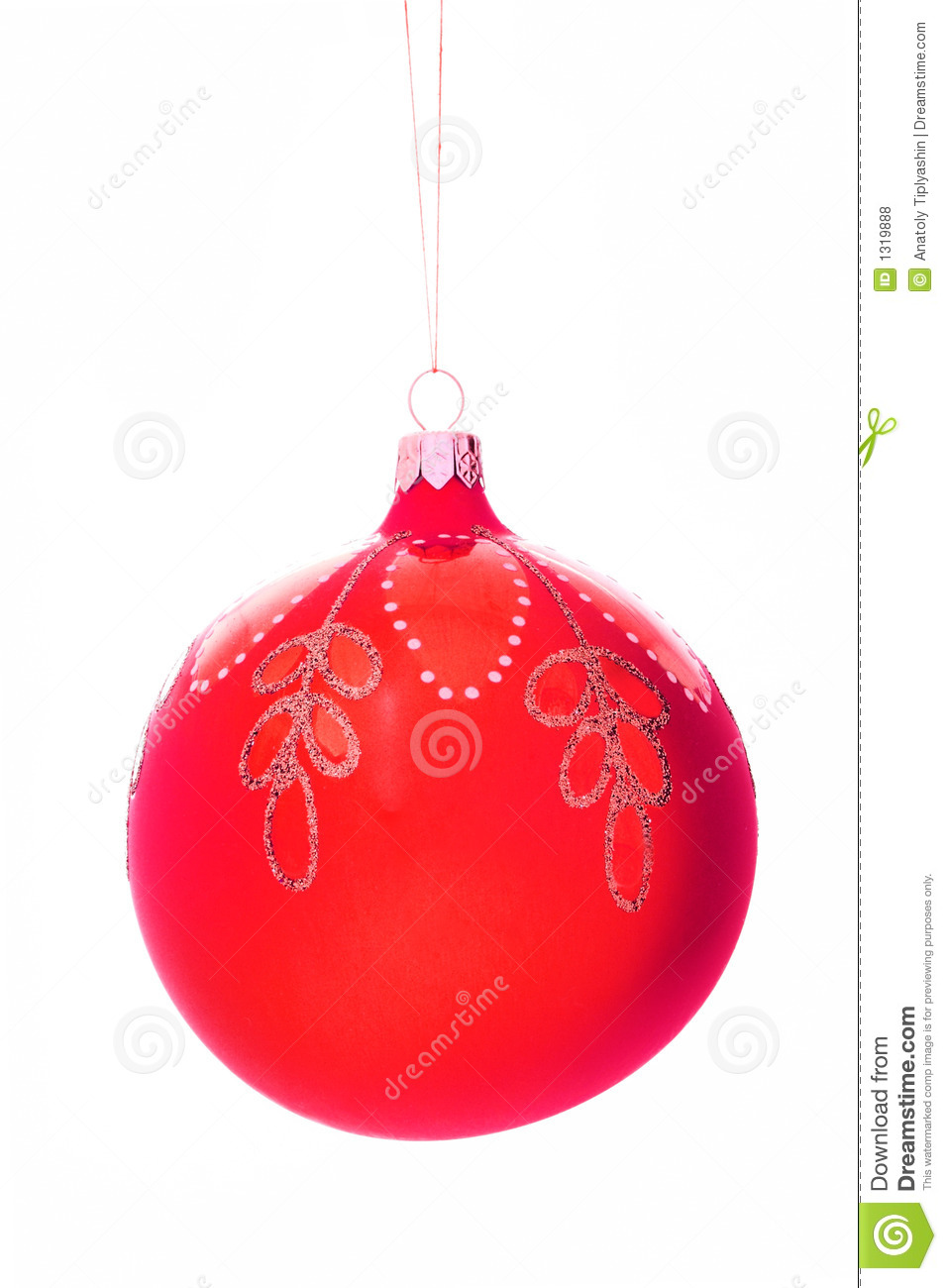 Christmas tree decorations ball royalty free stock photos for Ball decoration ideas