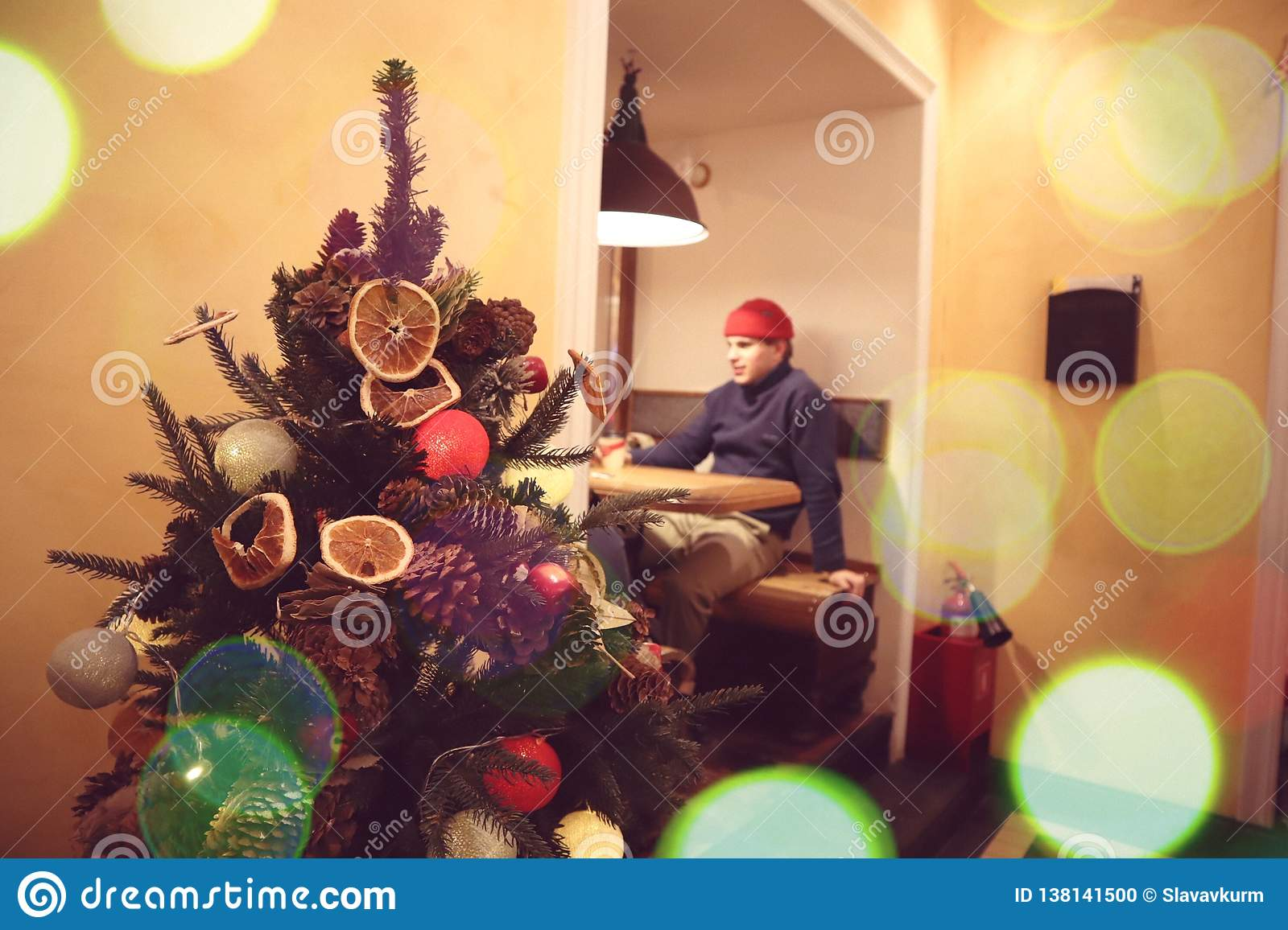 2 144 Cafe Christmas Decorations Photos Free Royalty Free Stock Photos From Dreamstime