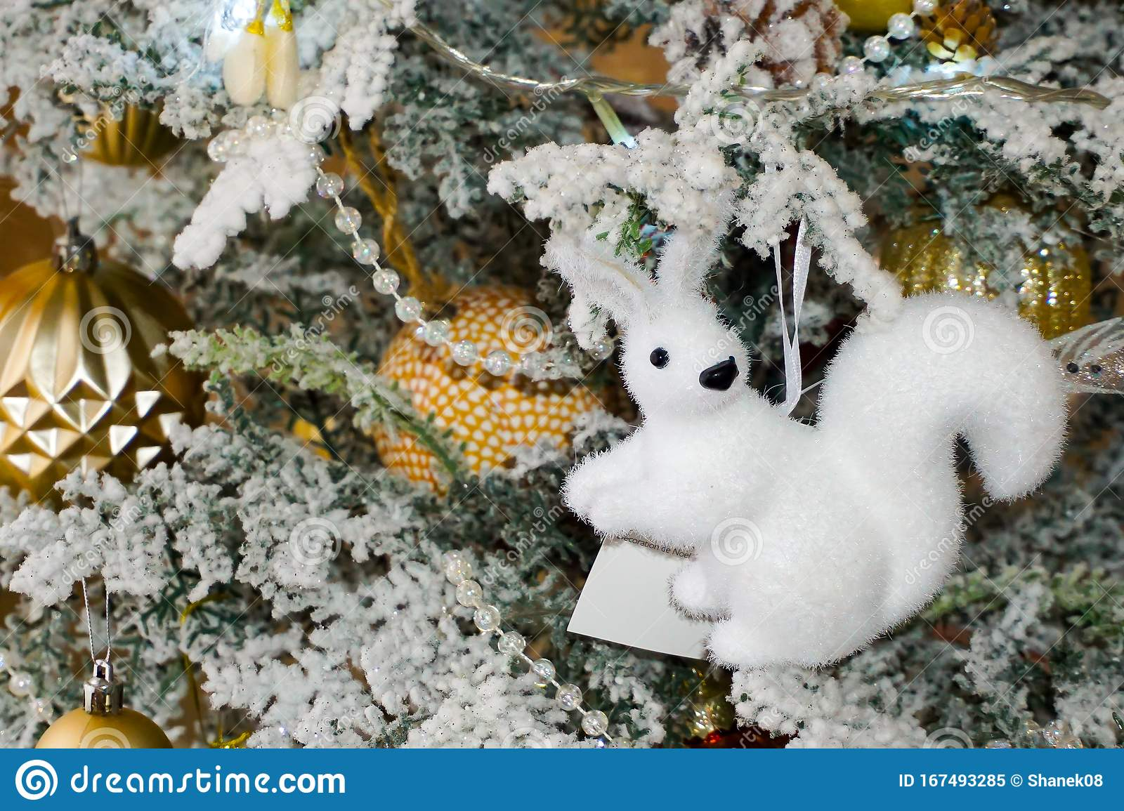 Christmas Tree Decorations Christmas Toys Squirrel Butterfly