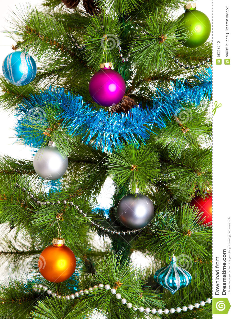 Christmas tree decorations 2016 happy new year stock Latest christmas decorations