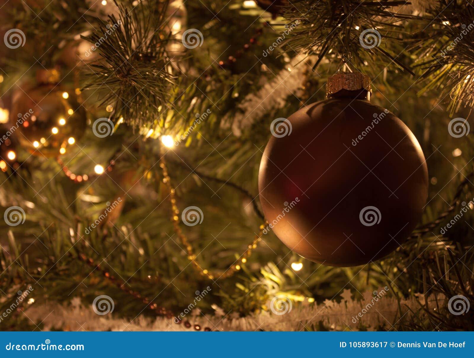 Christmas tree decorations.