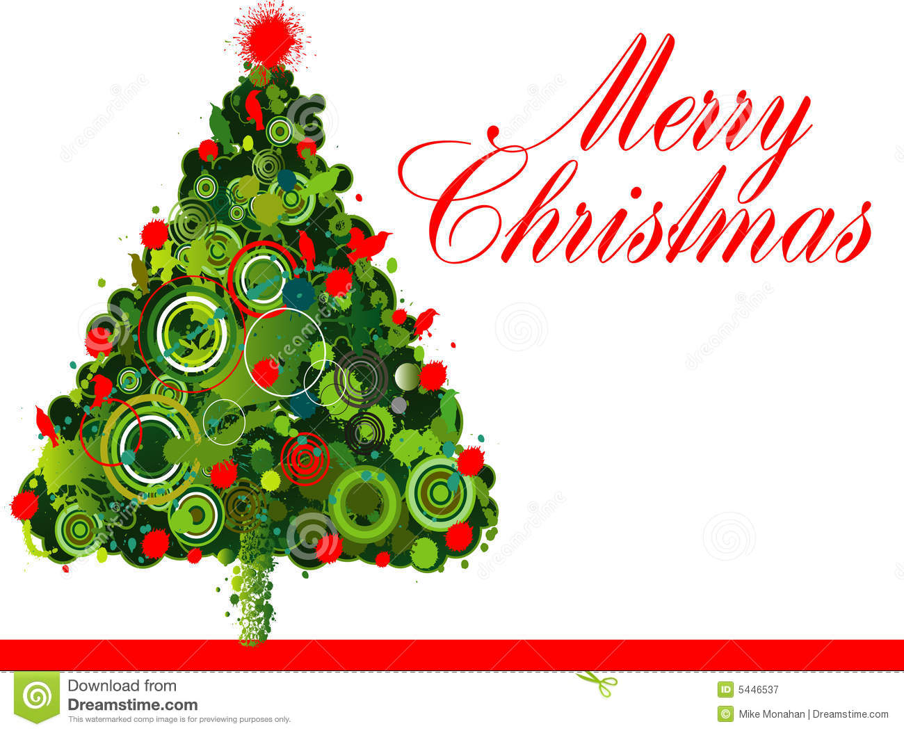 Christmas Tree Design Stock Vector Image Of Vector