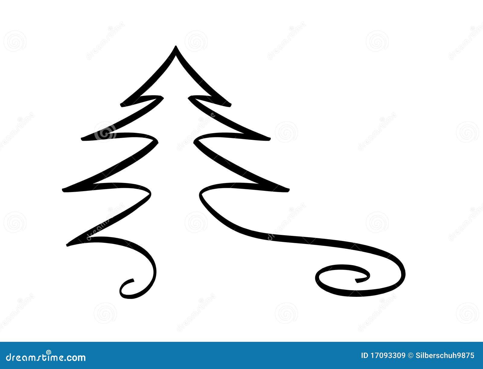 christmas tree design element stock illustration image. Black Bedroom Furniture Sets. Home Design Ideas