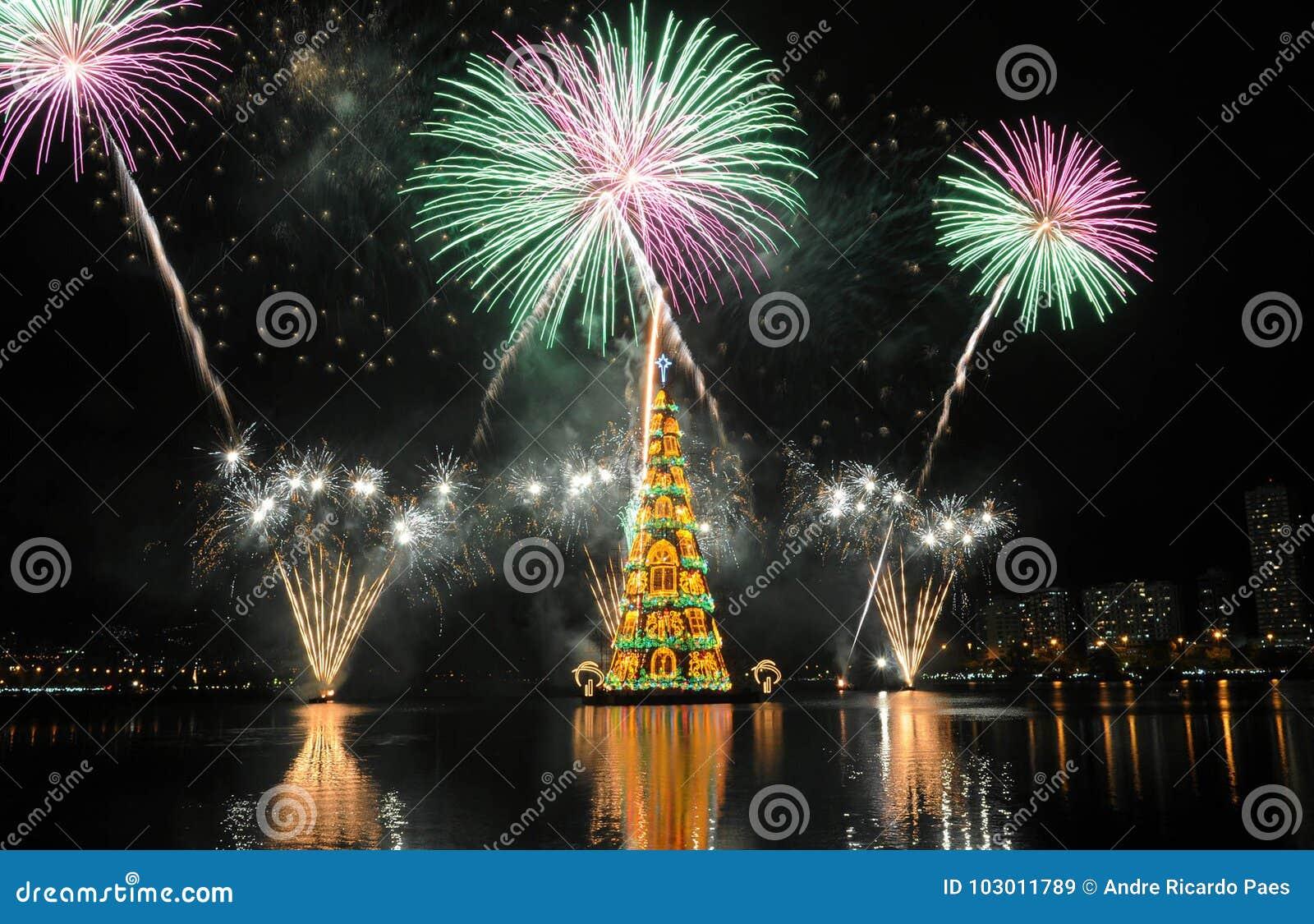 Brazil Christmas.Christmas Tree Stock Image Image Of Highlights Noel