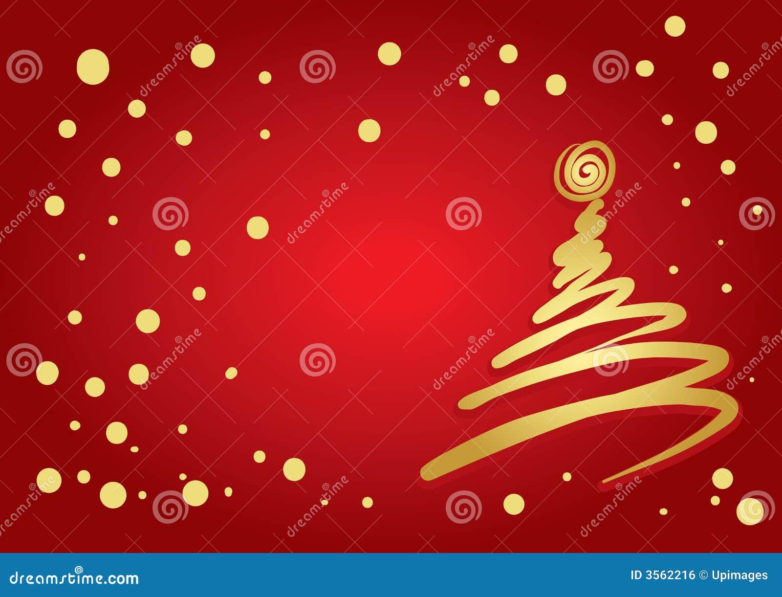 Christmas Tree Flourish Royalty Free Stock Image Image