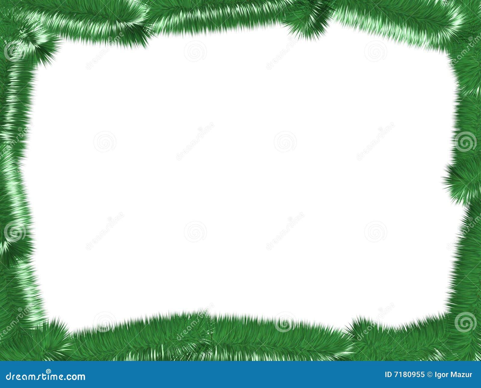 Christmas Tree Frame Royalty Free Stock Photo - Image: 7180955