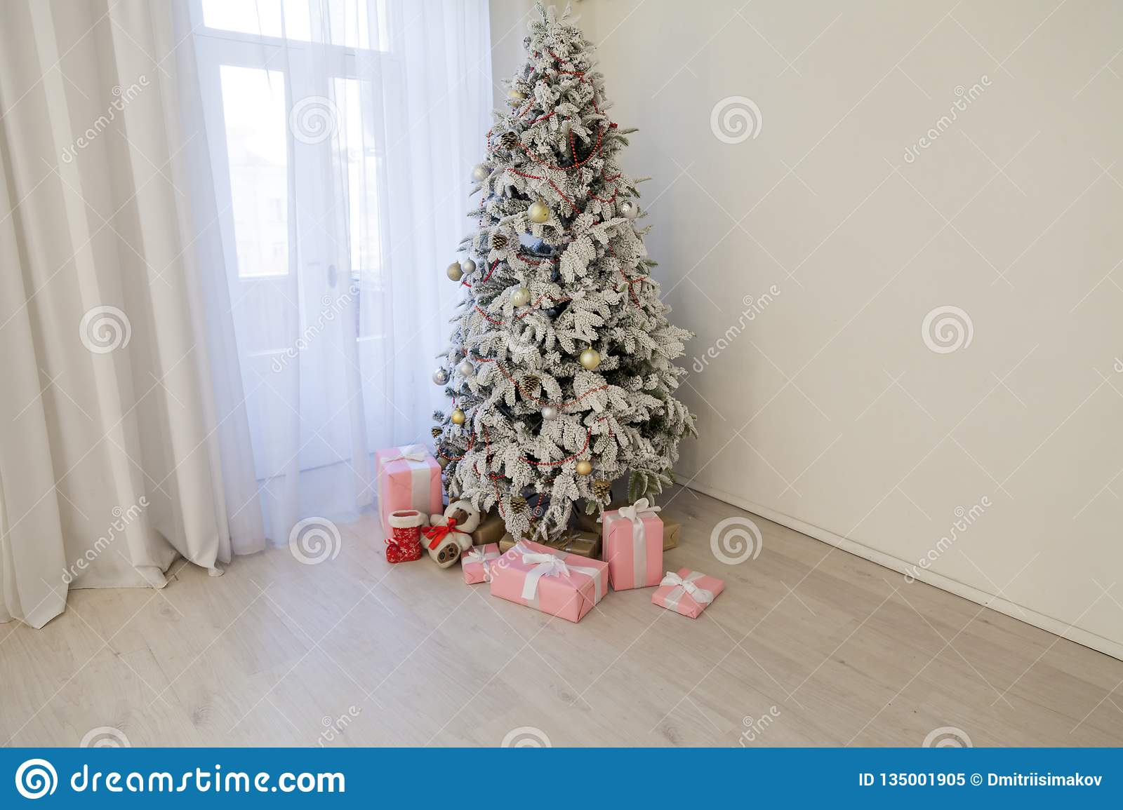White House Christmas Tour 2020.Christmas Tree Garland Lights New Year Gifts Holiday White