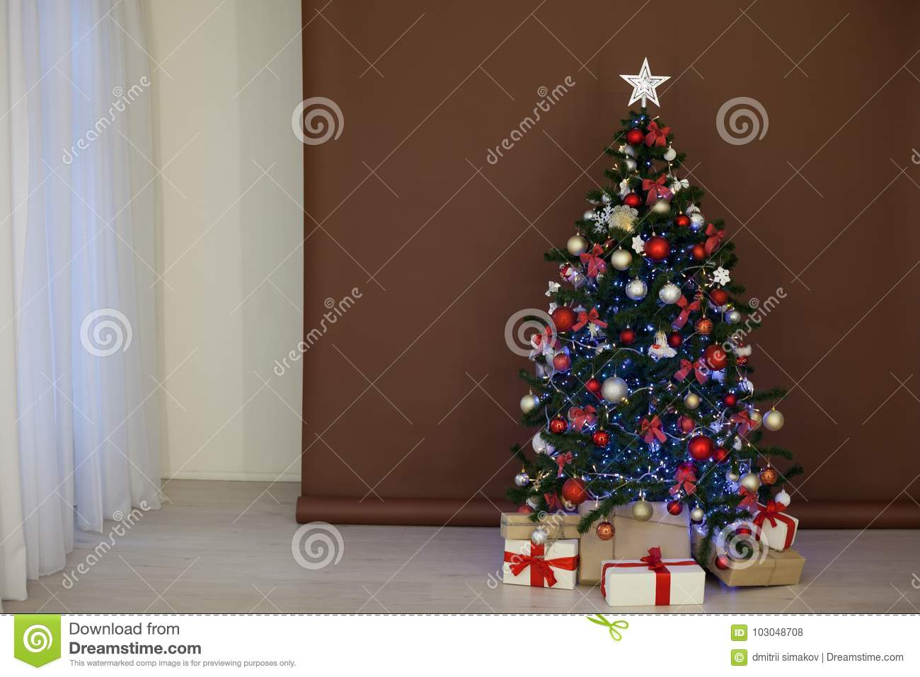 Christmas tree garlands for the New Year 2017 do it yourself 4