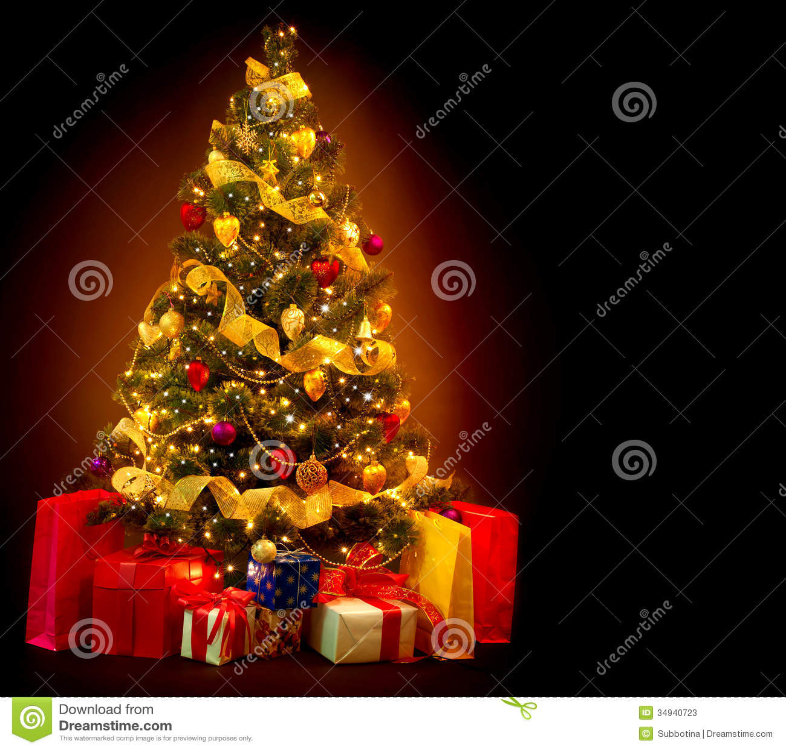Black Bear Christmas Tree