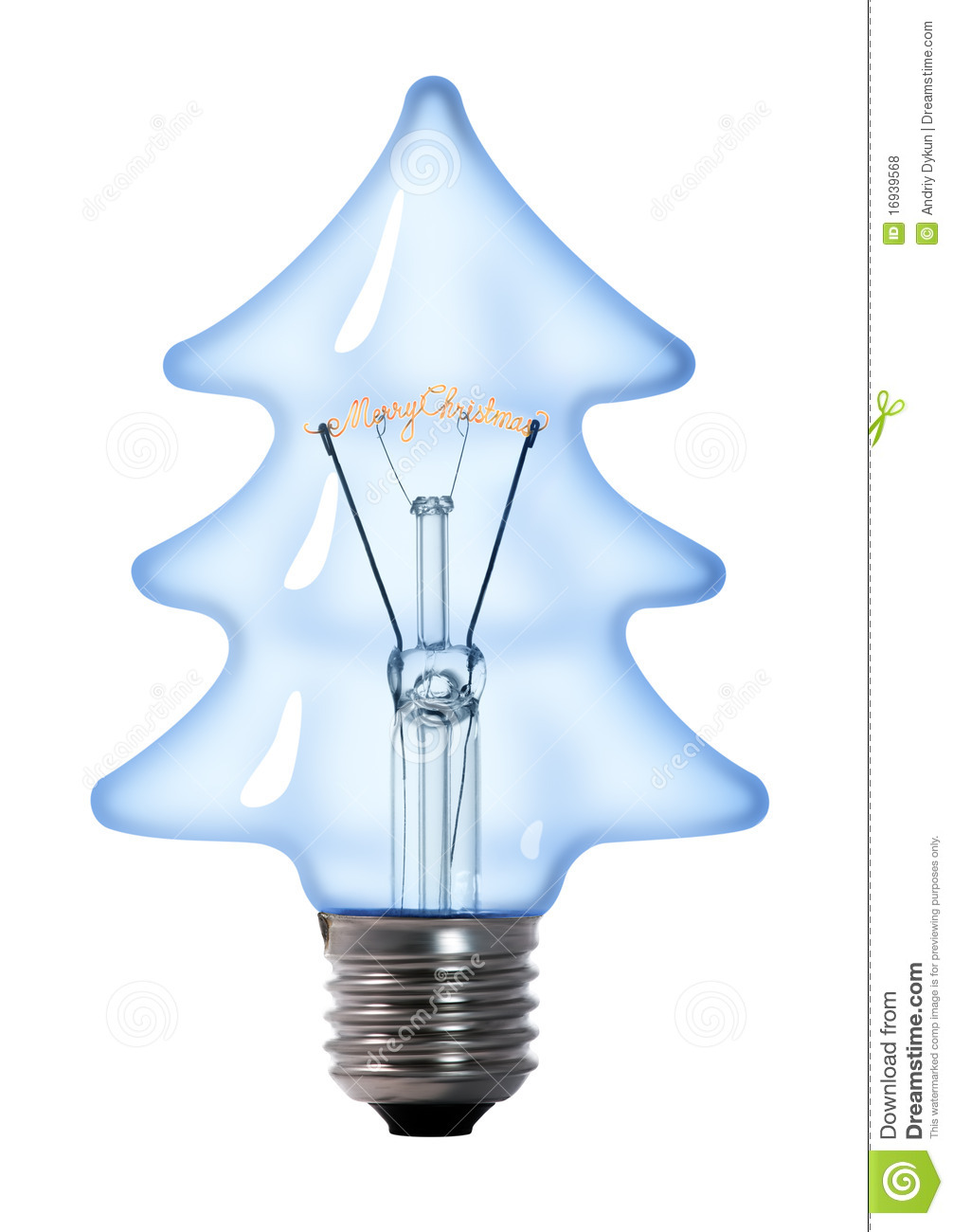 Christmas Tree Light Bulb Stock Photo Image Of Bulb 16939568