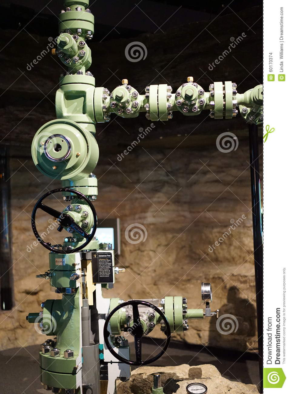 Christmas Tree Oil And Gas Editorial Stock Image Image Of