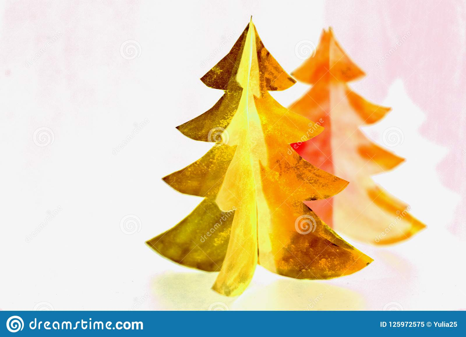 Christmas Tree Paper Cutting Design Card Christmas Tree Paper Craft