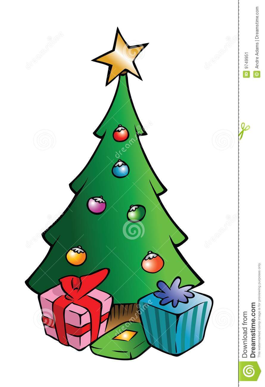 Christmas Tree And Presents Stock Vector Illustration Of Star Tree 9749951 Check out inspiring examples of cartoon_tree artwork on deviantart, and get inspired by our community of talented artists. christmas tree and presents stock vector illustration of star tree 9749951