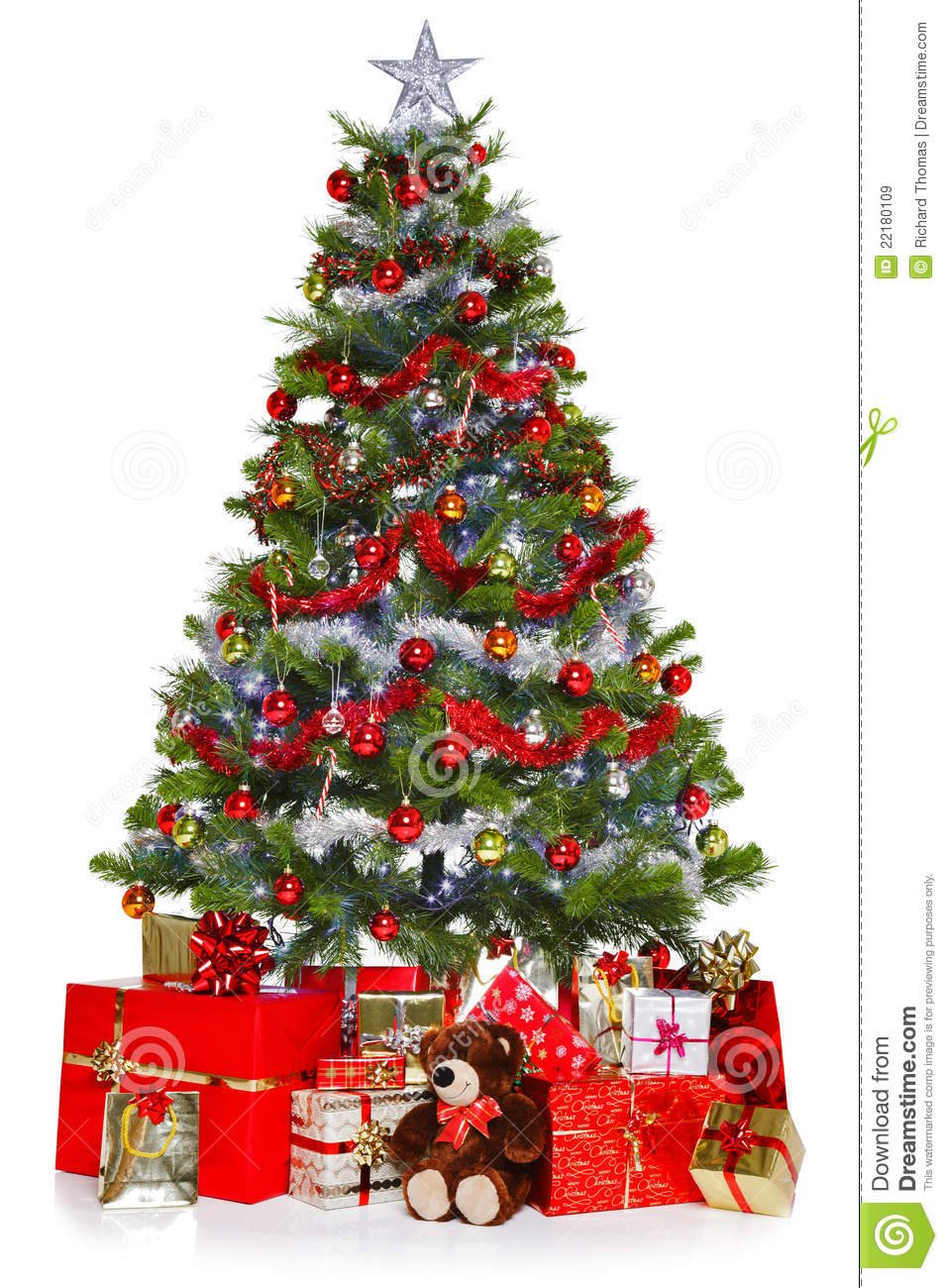 100 red white and green christmas tree decorations amazing