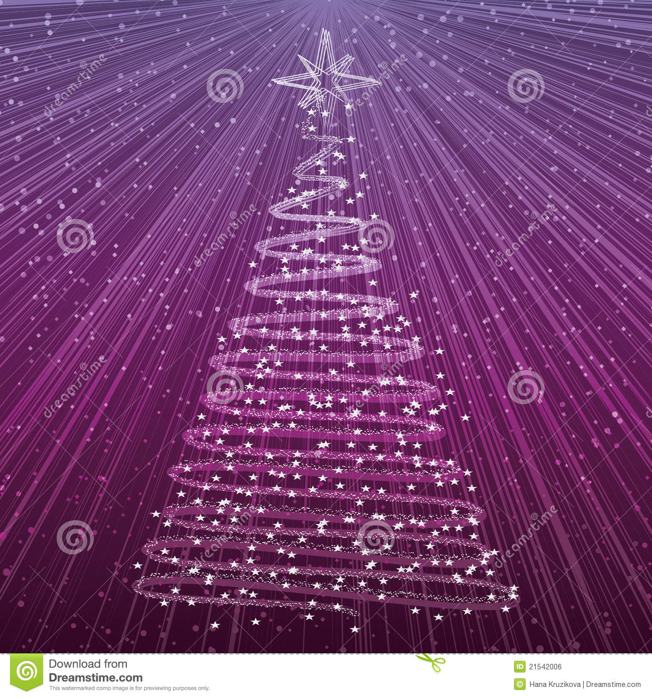 royalty free stock photo download christmas tree on purple - Purple Christmas Tree Lights