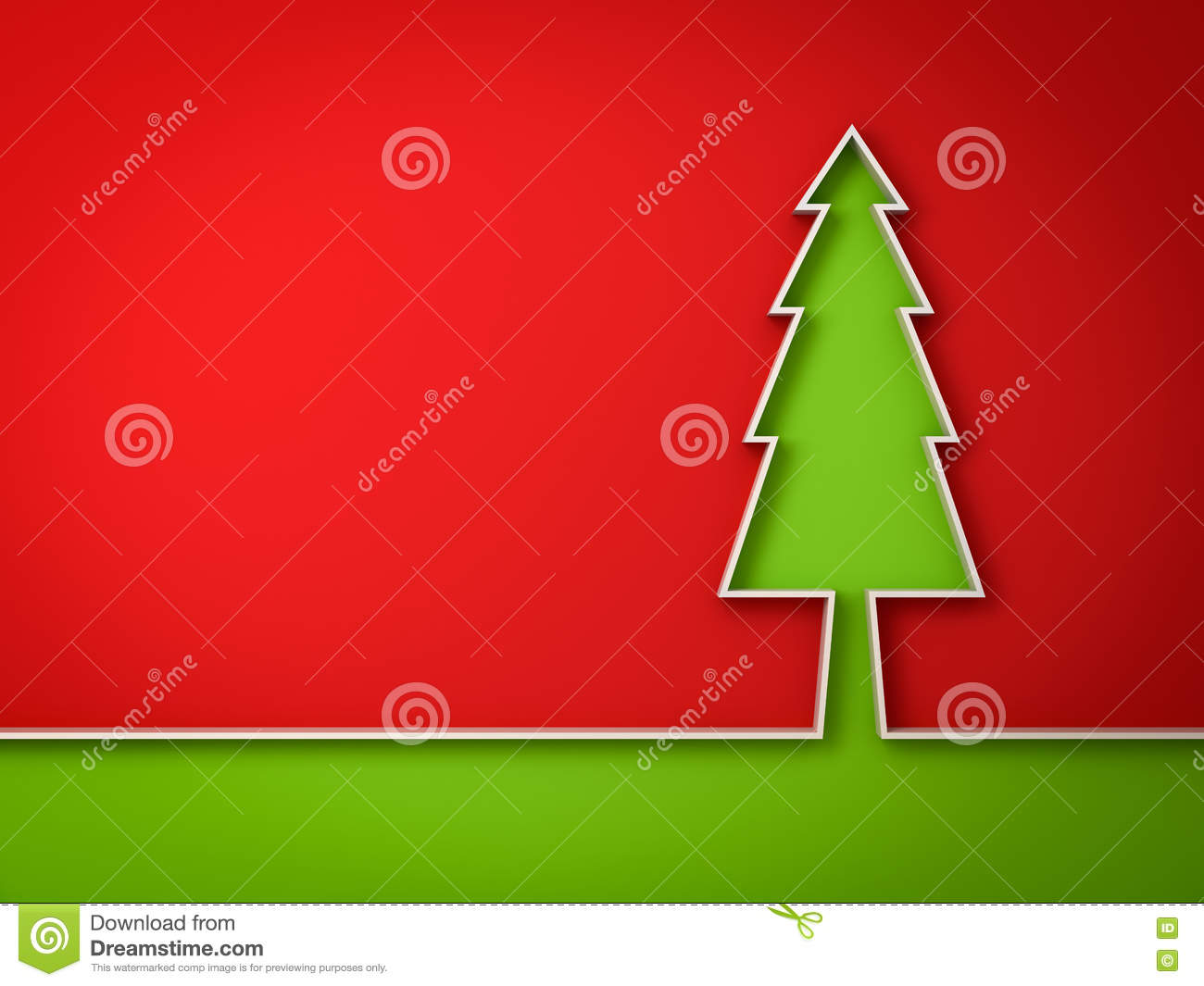 Christmas tree red and green background for christmas for Red green christmas tree