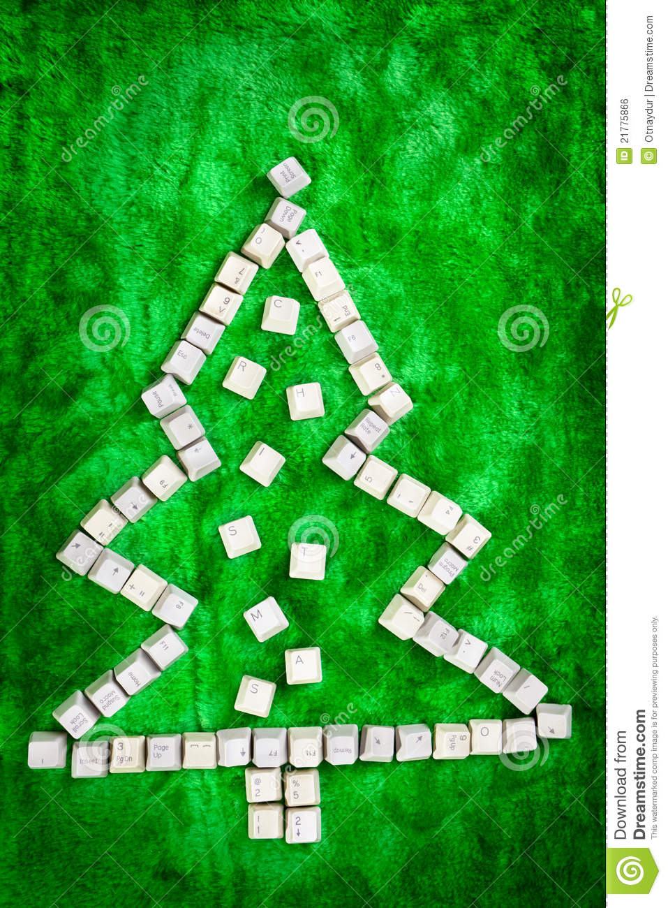 Christmas Tree Keyboard Symbol