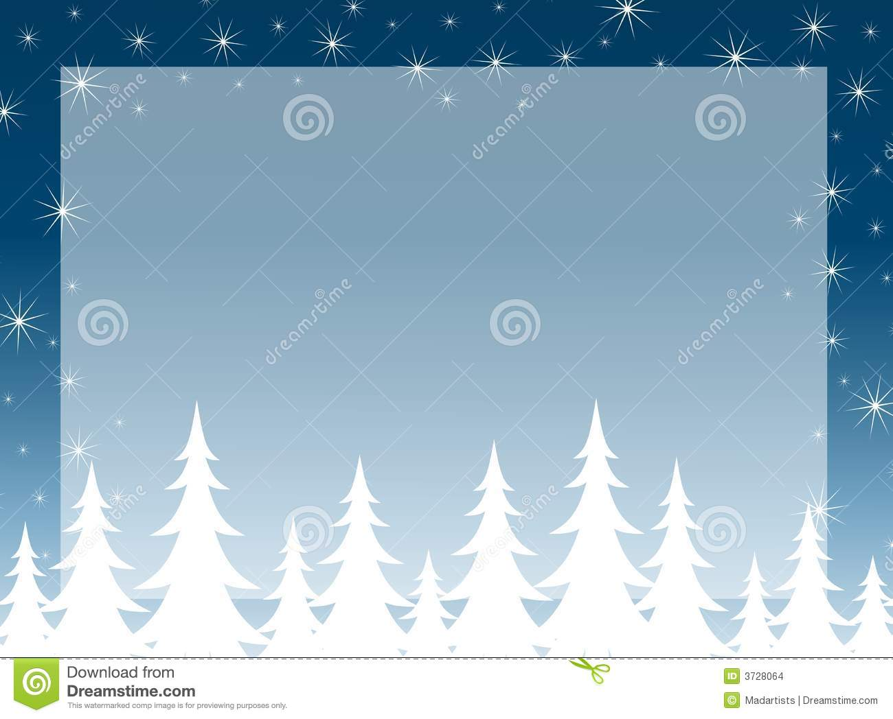 Christmas Tree Silhouette Background Stock Images - Image ...