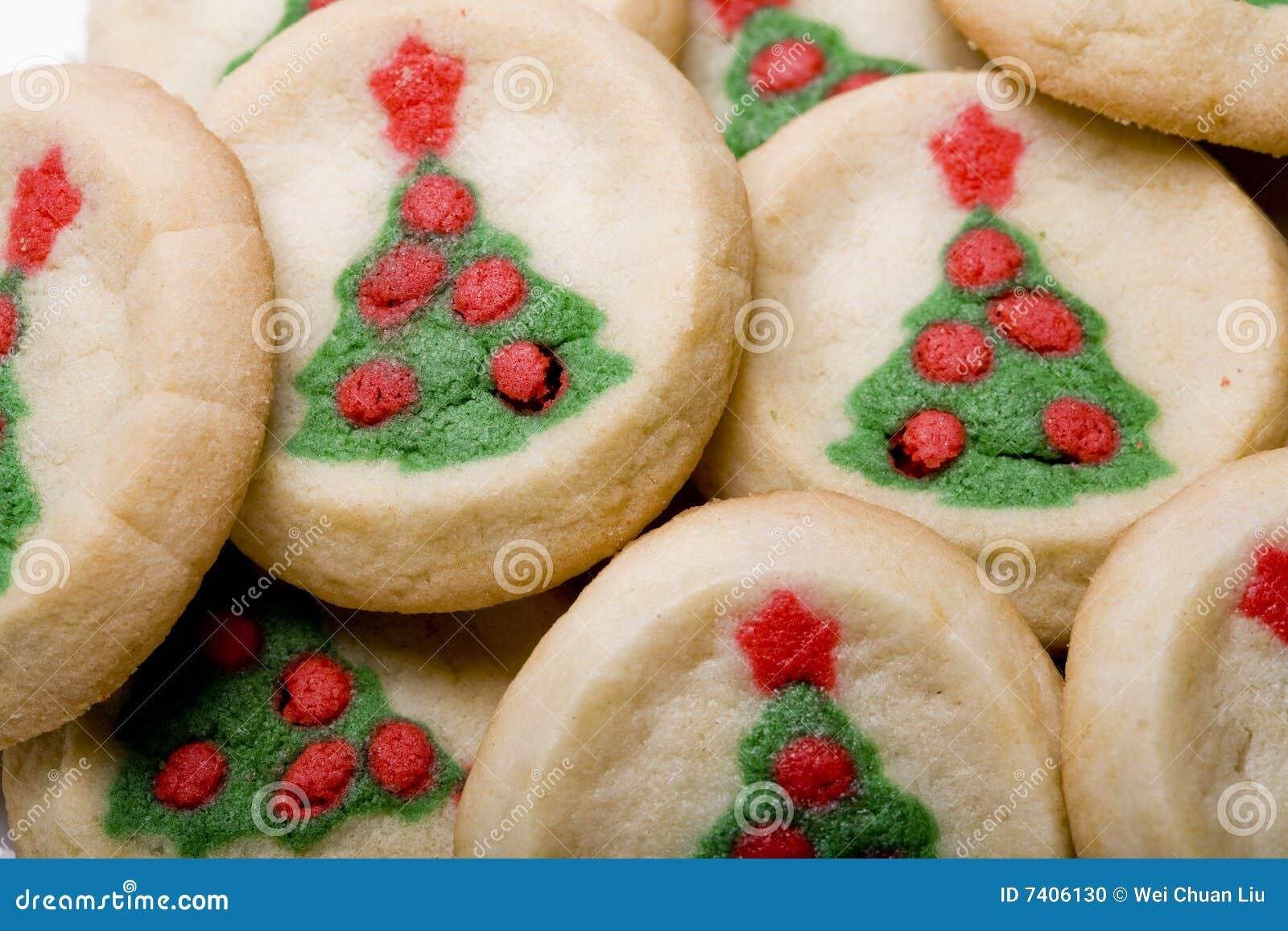 Christmas Tree Sugar Cookies Stock Photo Image Of Cookies Closeup