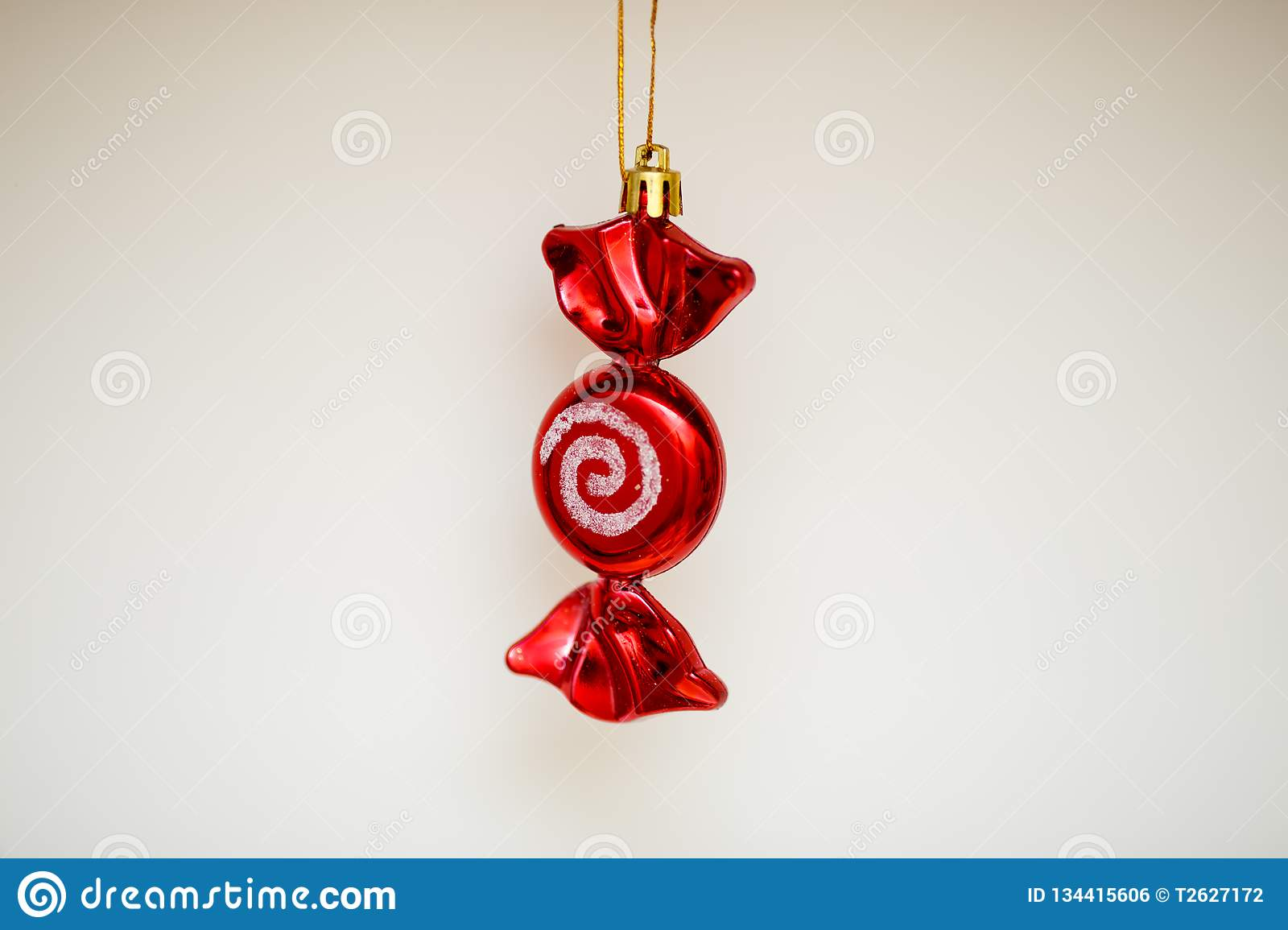 Christmas tree toy as a festive decoration