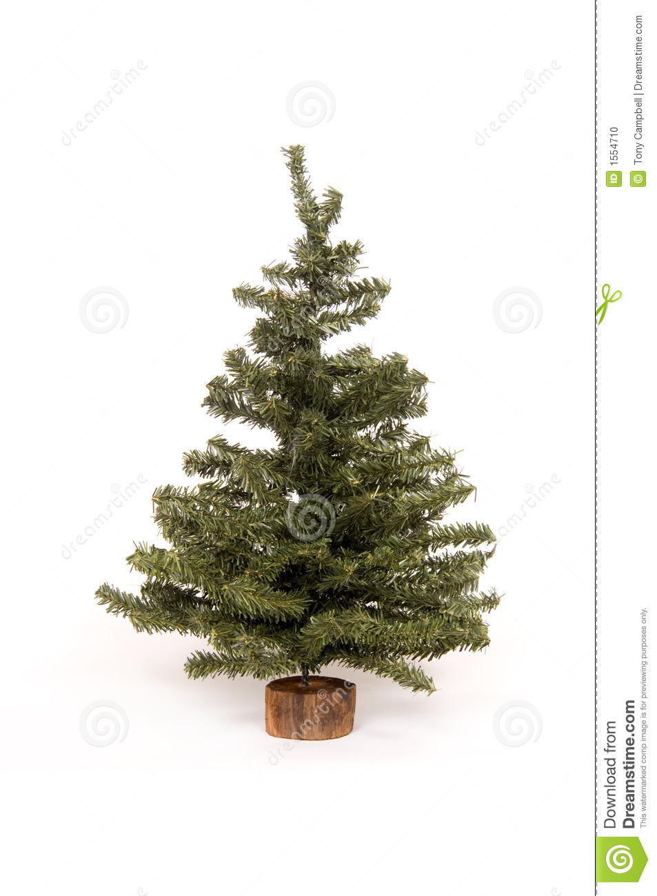 White Artificial Christmas Tree With Lights