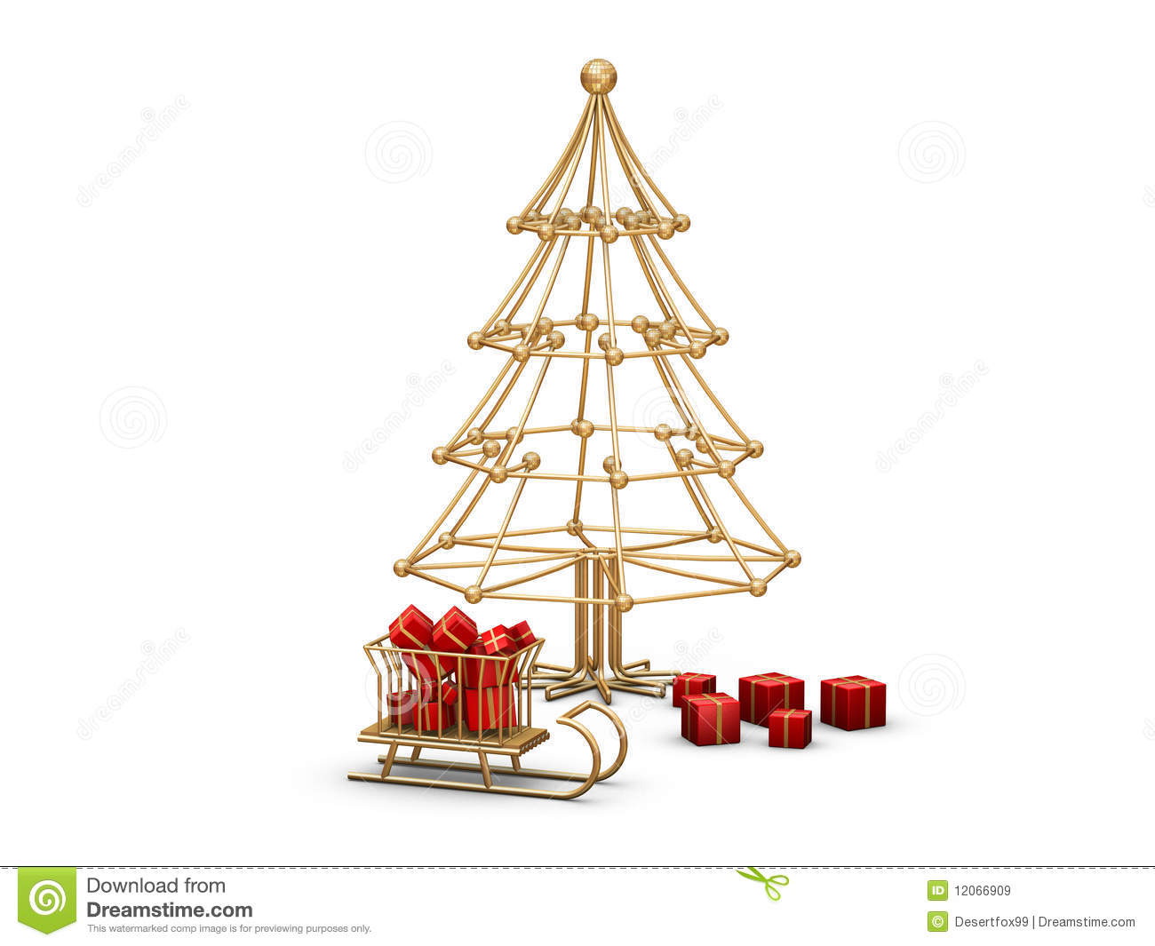 christmas tree wire royalty free stock images image. Black Bedroom Furniture Sets. Home Design Ideas