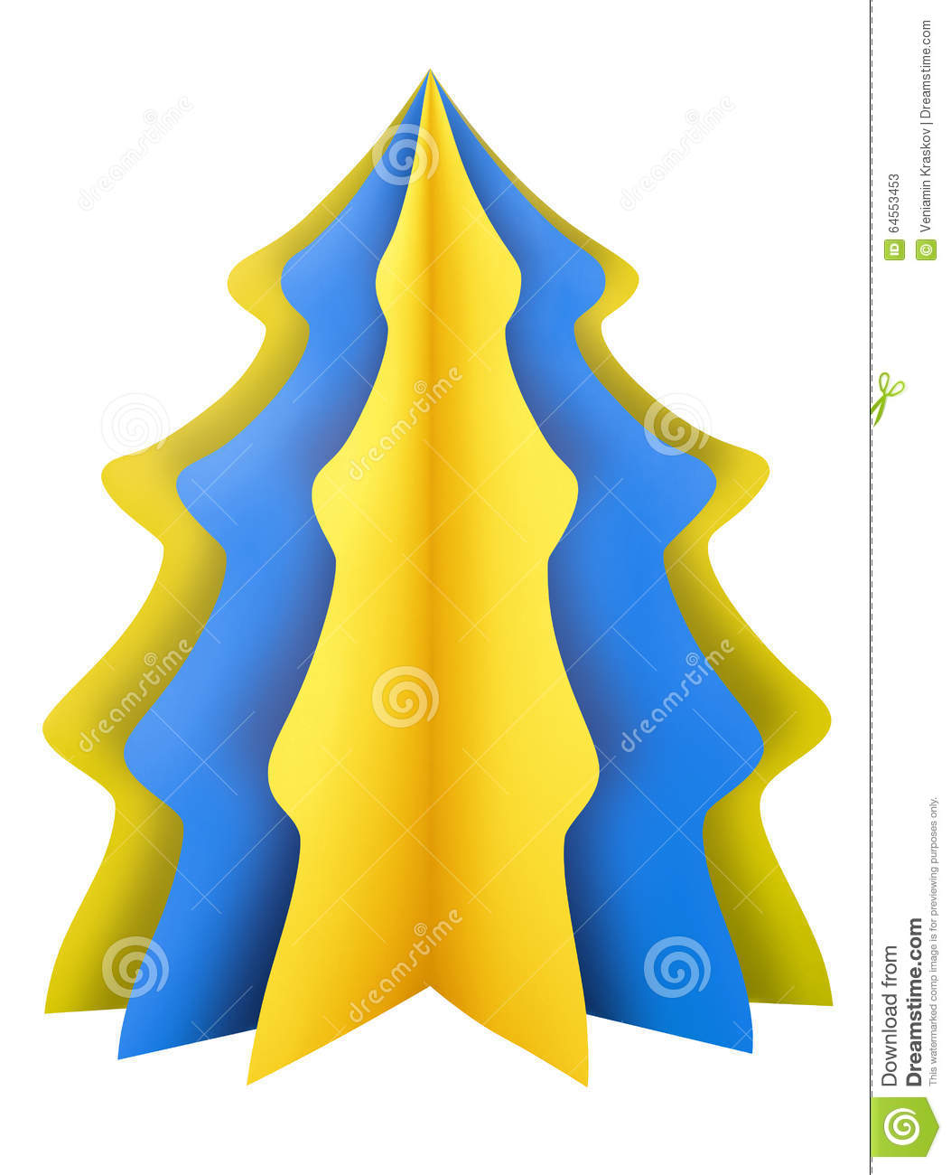 Blue And Brown Christmas Tree Decorations