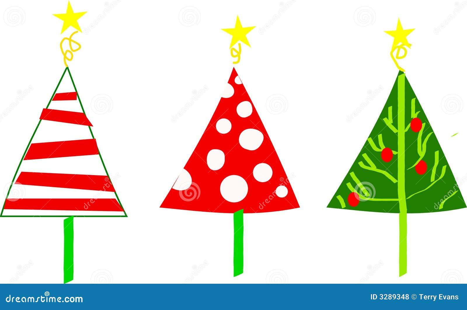 whimsical christmas tree clip art free - photo #9