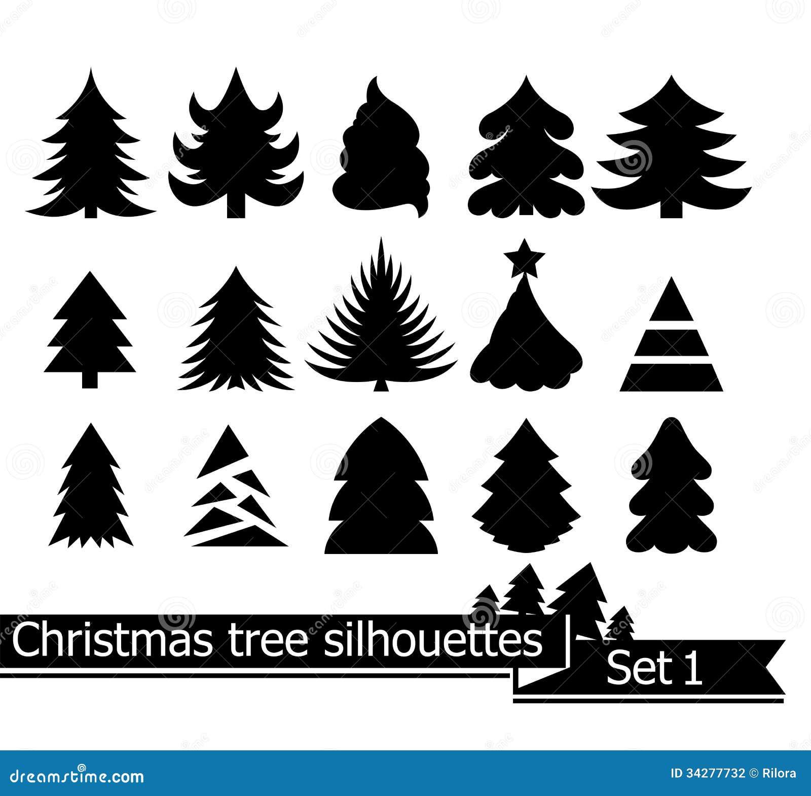 Christmas Trees Stock Photography Image 34277732