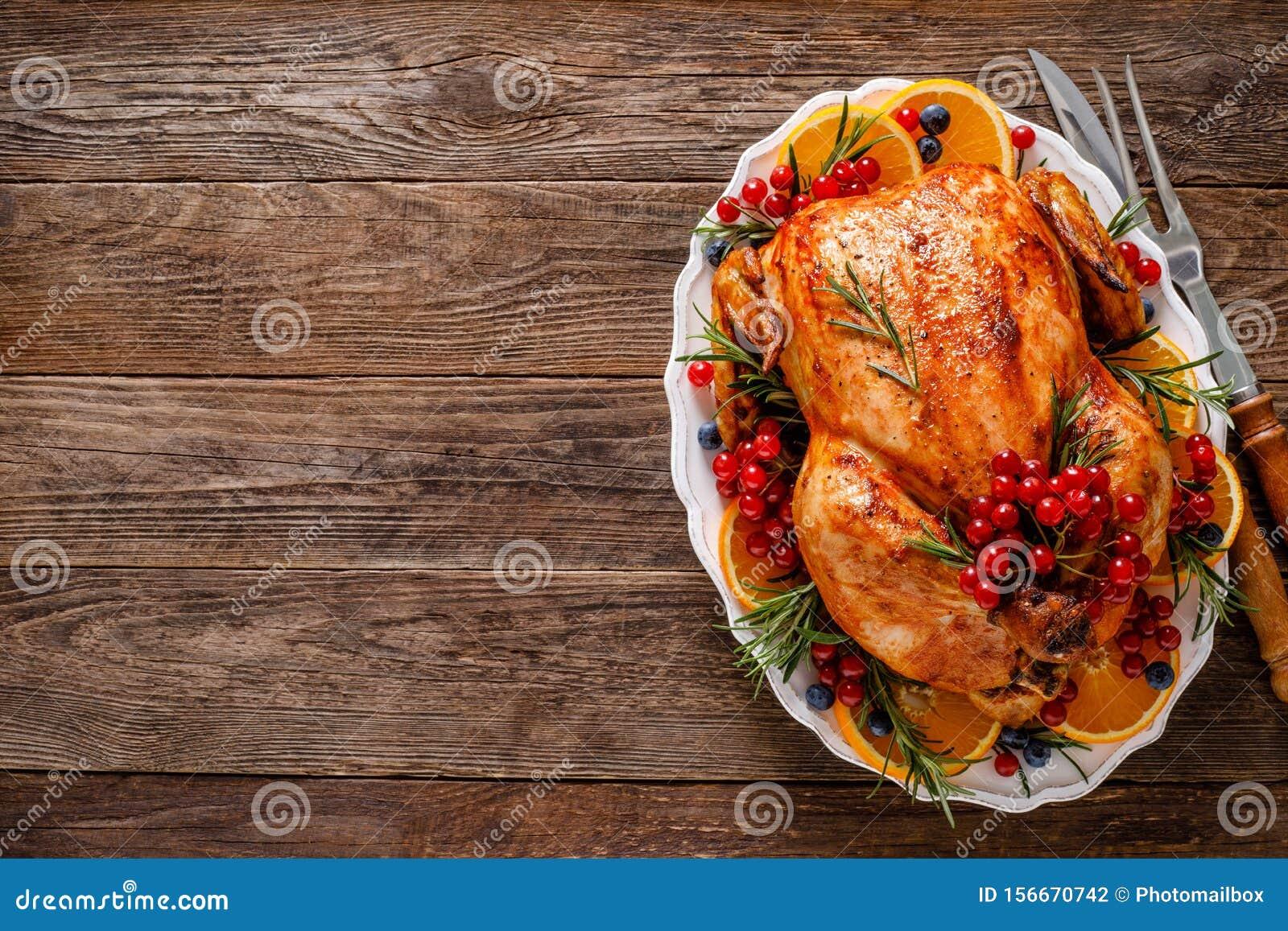 Christmas Turkey Traditional Festive Food For Christmas Or