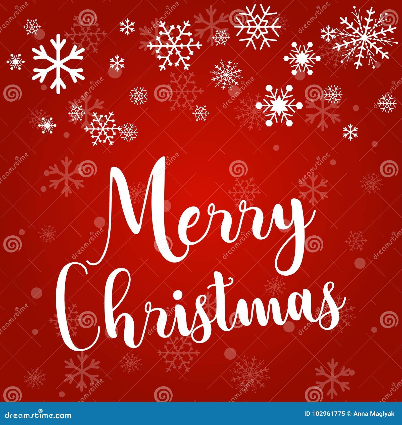 christmas and snowflakes light stars xmas card vector