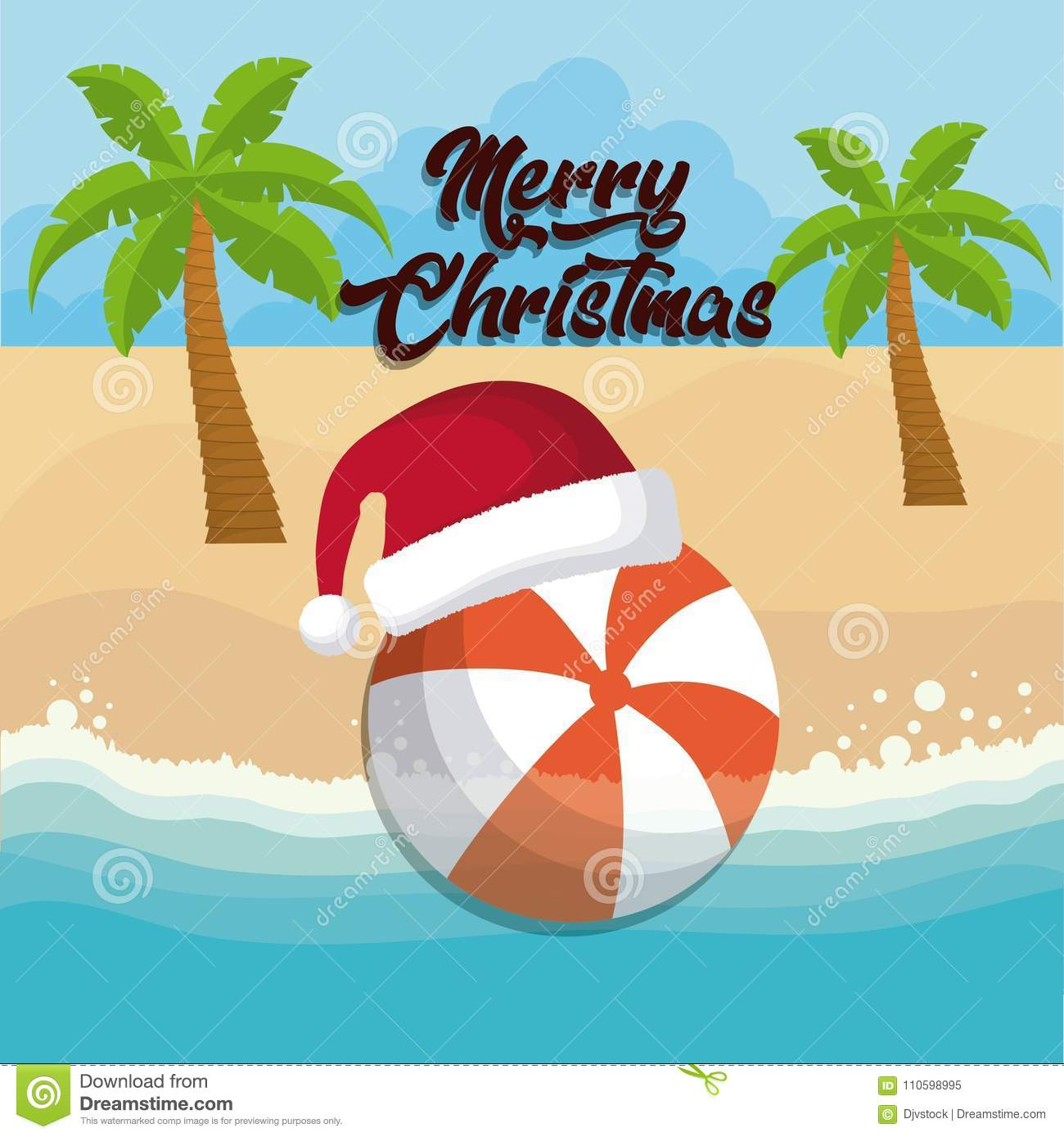 Christmas Vacations.Christmas Vacations Design Stock Vector Illustration Of