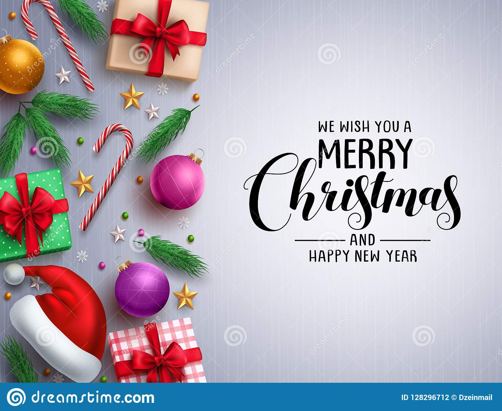 christmas vector background template merry christmas greeting