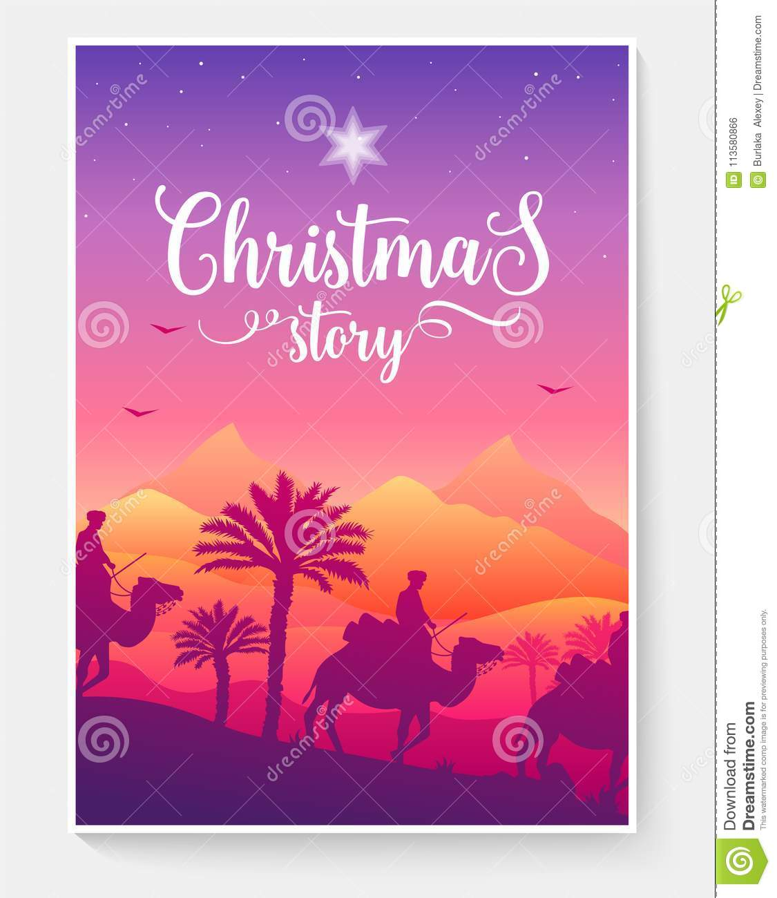 Christmas vector brochure cards set. magi travel template of flyear, magazines, poster, book cover, banners. Landscape