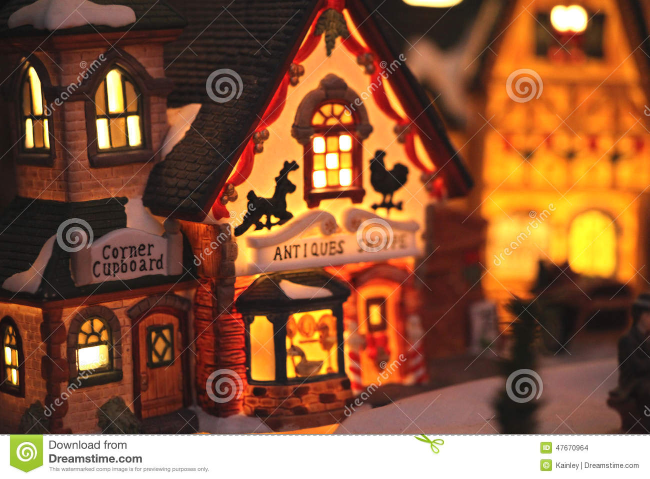 christmas village decorations