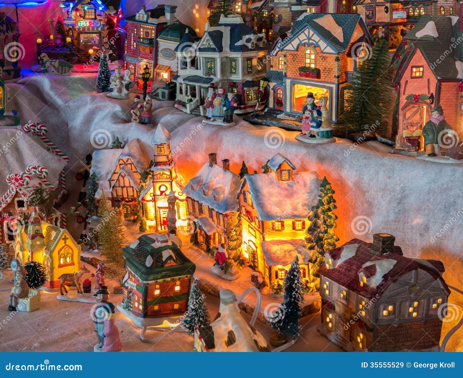 free christmas village clipart - photo #46