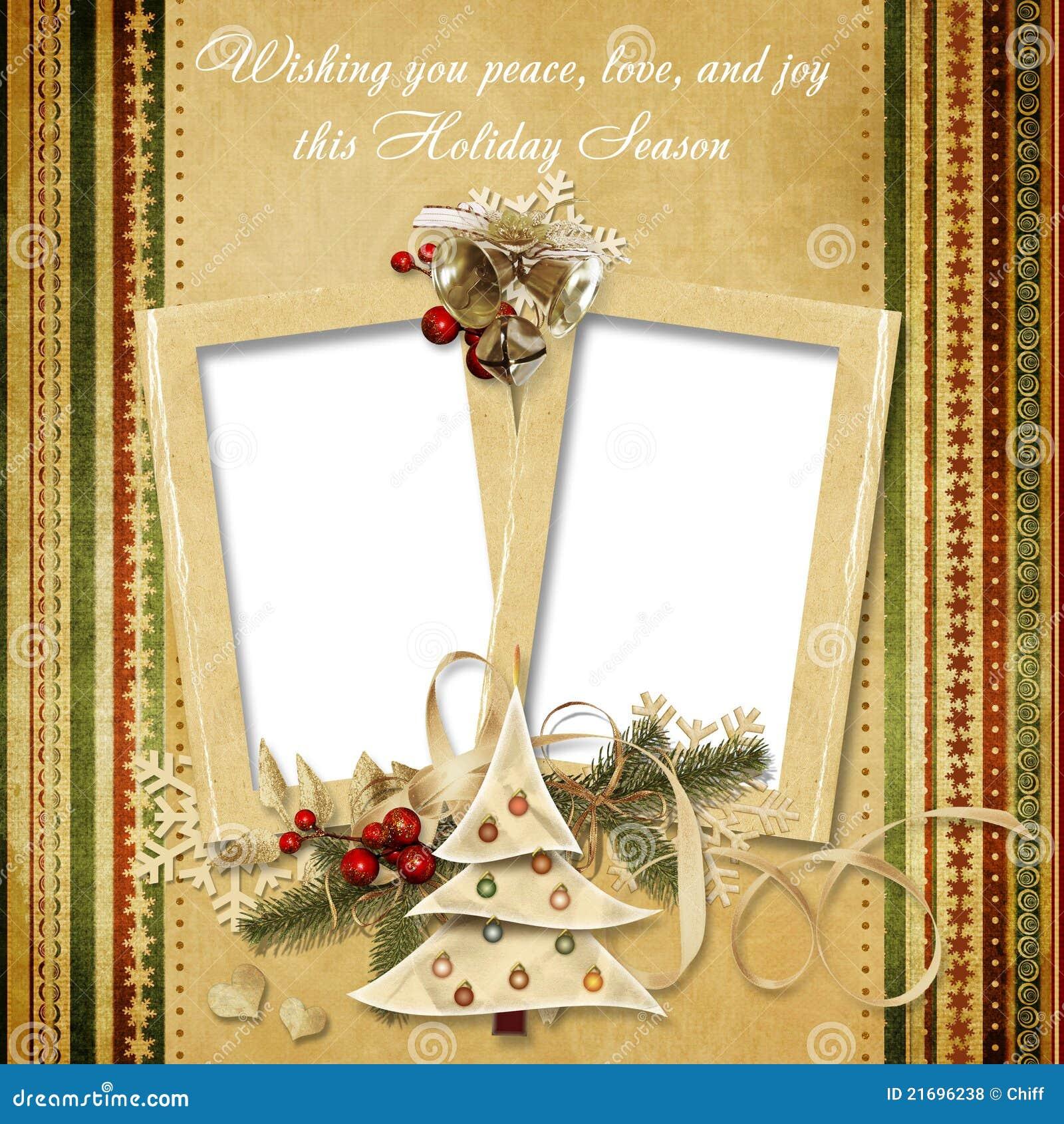 Christmas Vintage Gree...W Letter Design
