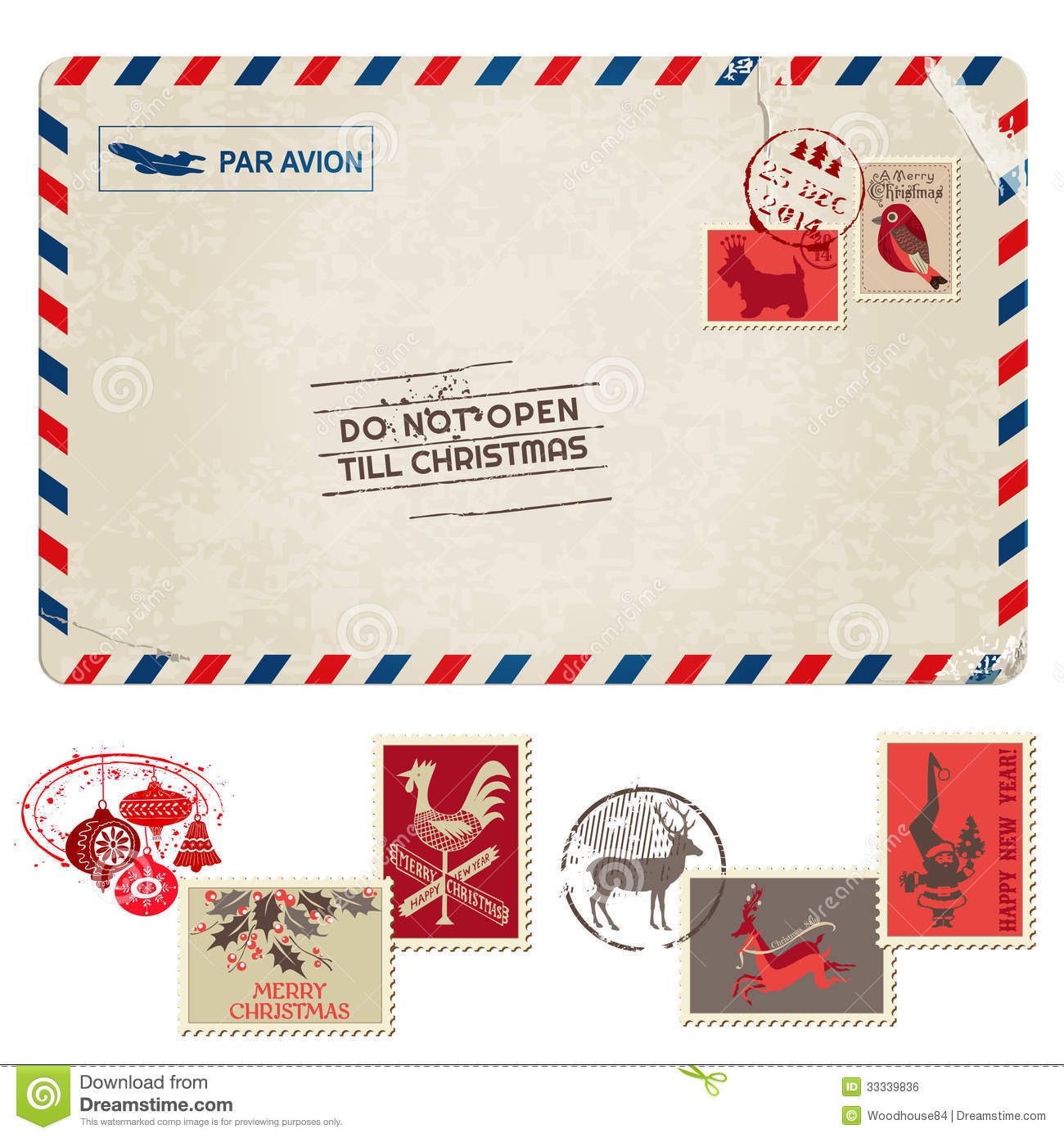 dating postcards by stamp box and png