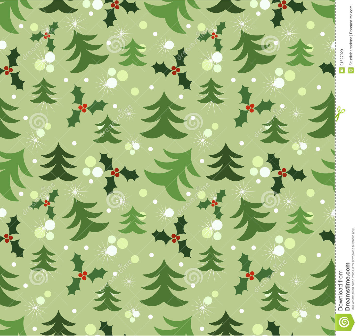 Christmas Wall Paper.Christmas Wallpaper Stock Vector Illustration Of Backdrop