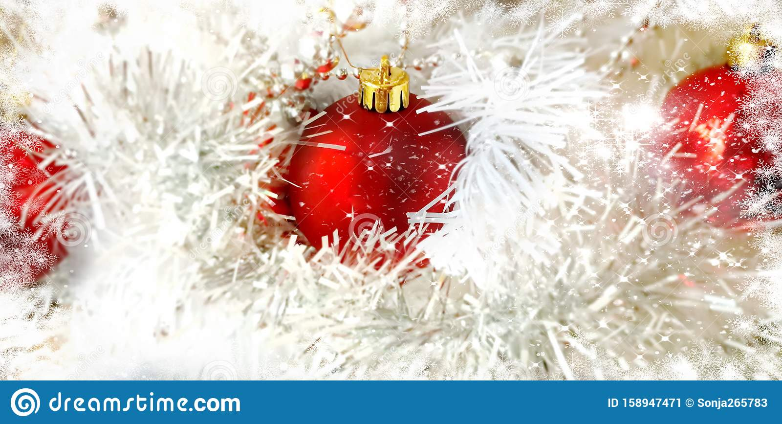 Christmas Wallpaper Holiday White Gold Silver Red Green Balls With