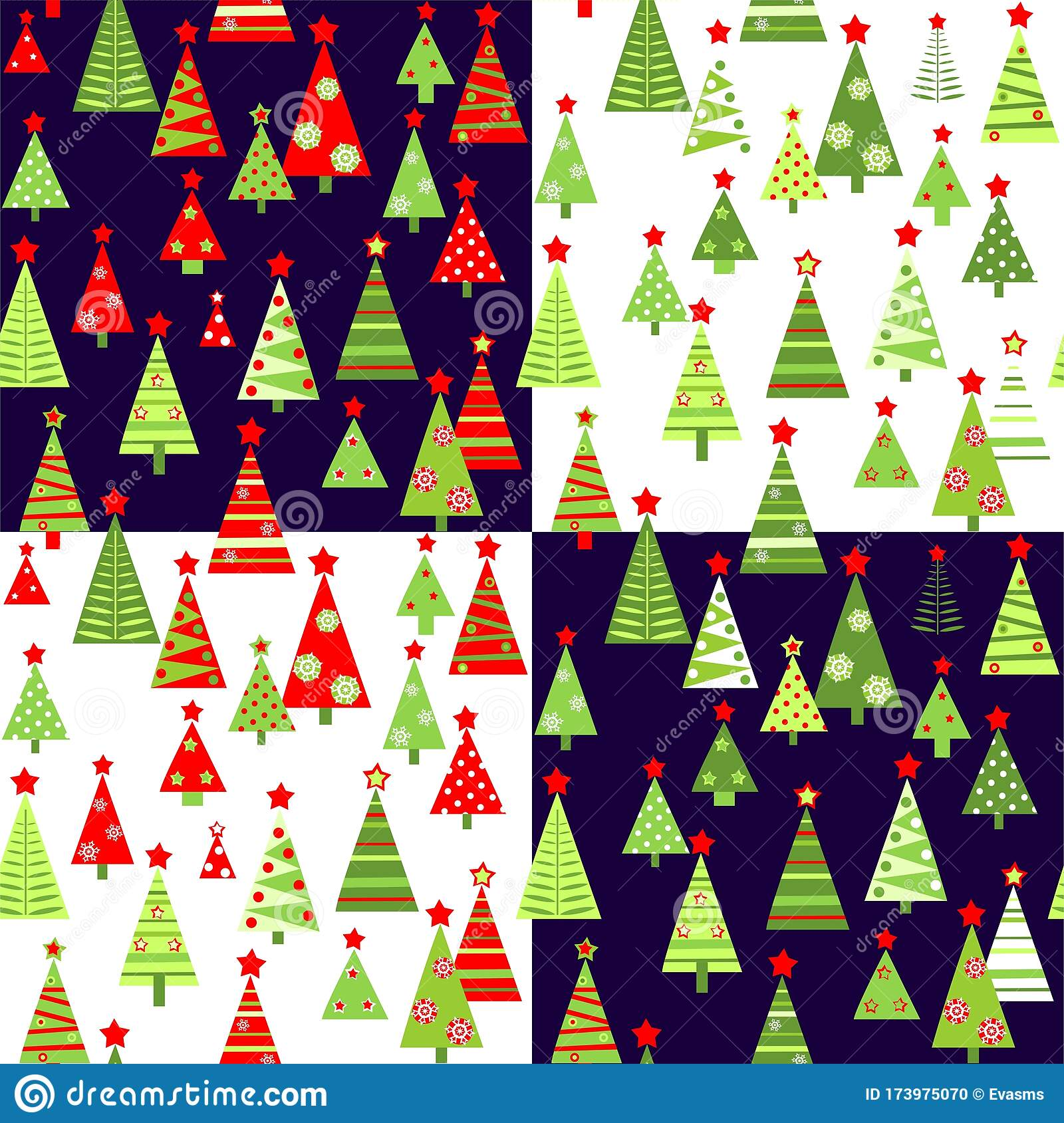 christmas wallpaper variation paper cutting funny red green xmas trees stars snowflakes wallpapers 173975070