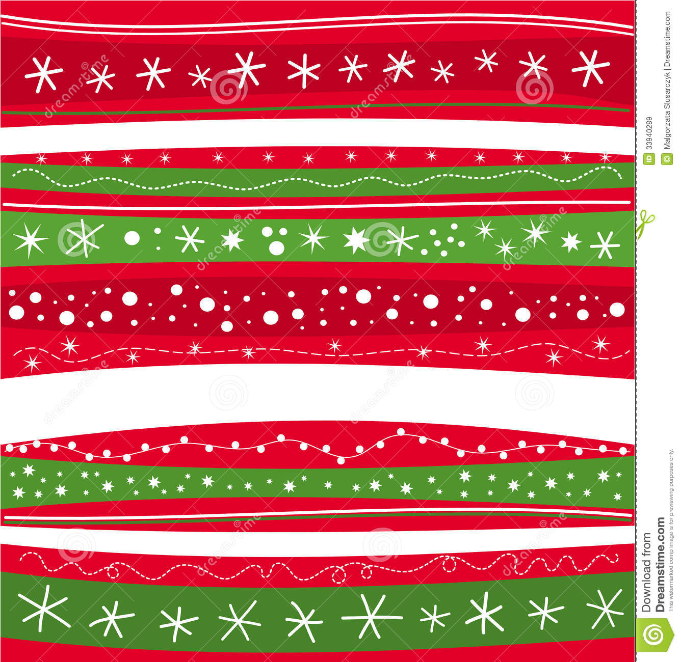 Christmas Green And Red.Christmas Wallpaper Stock Vector Illustration Of Decoration