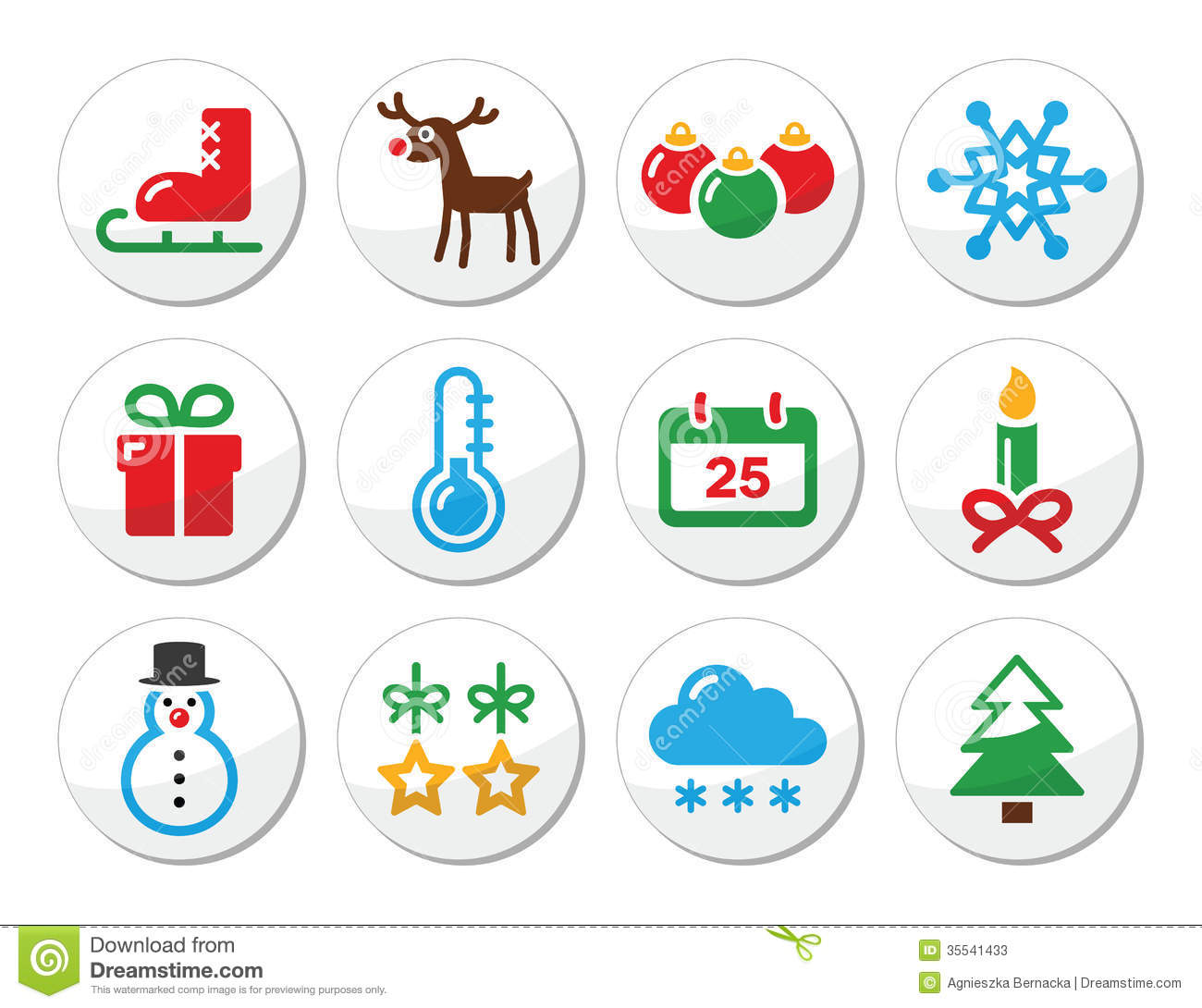 Tree With Snow Clipart