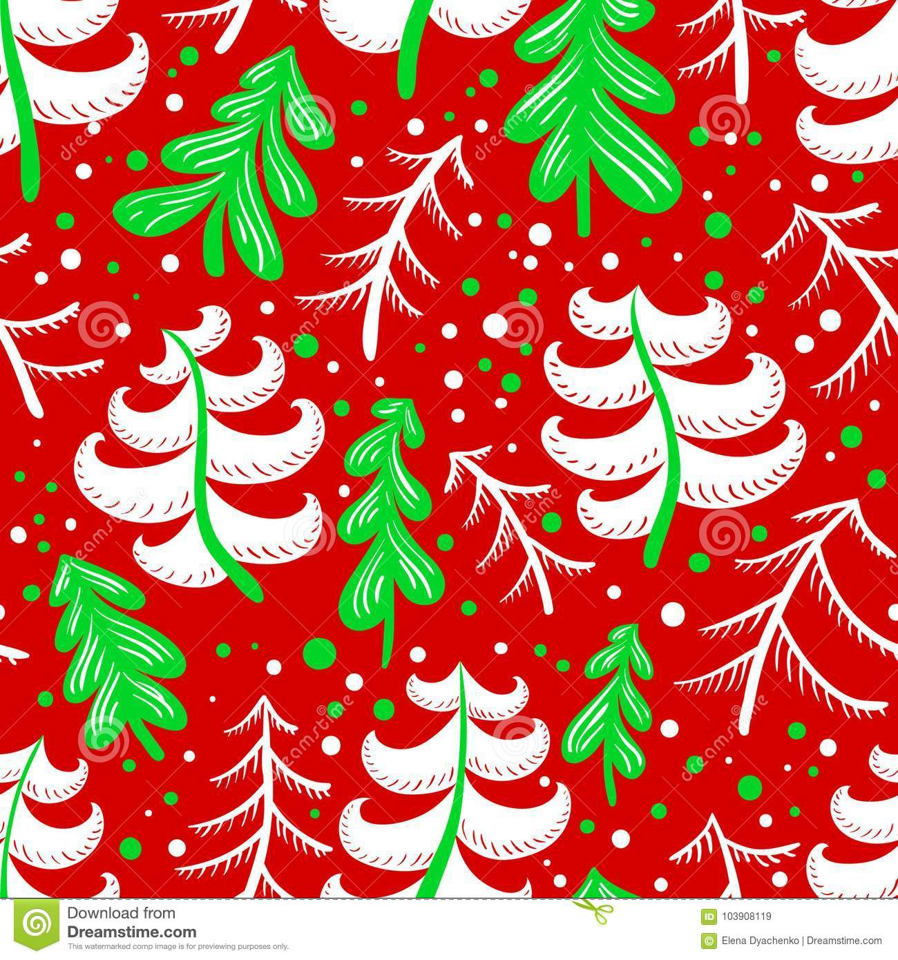 christmas and winter seamless pattern in red and green colors b - Why Are Red And Green Christmas Colors