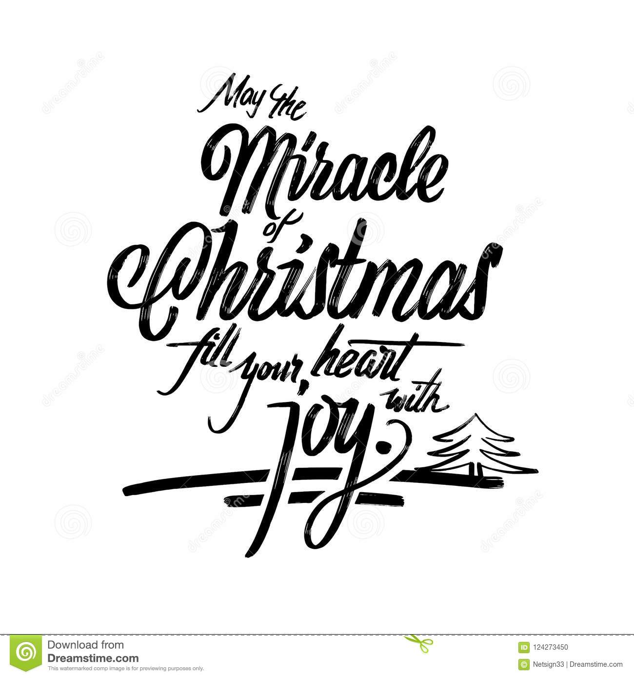download christmas words lettering greeting card stock vector illustration of message graphic 124273450