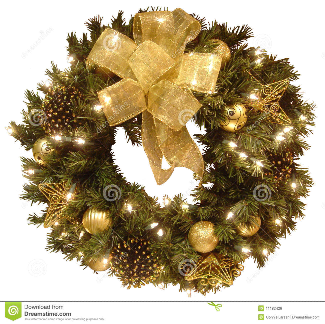 christmas wreath royalty free stock image image 11182426