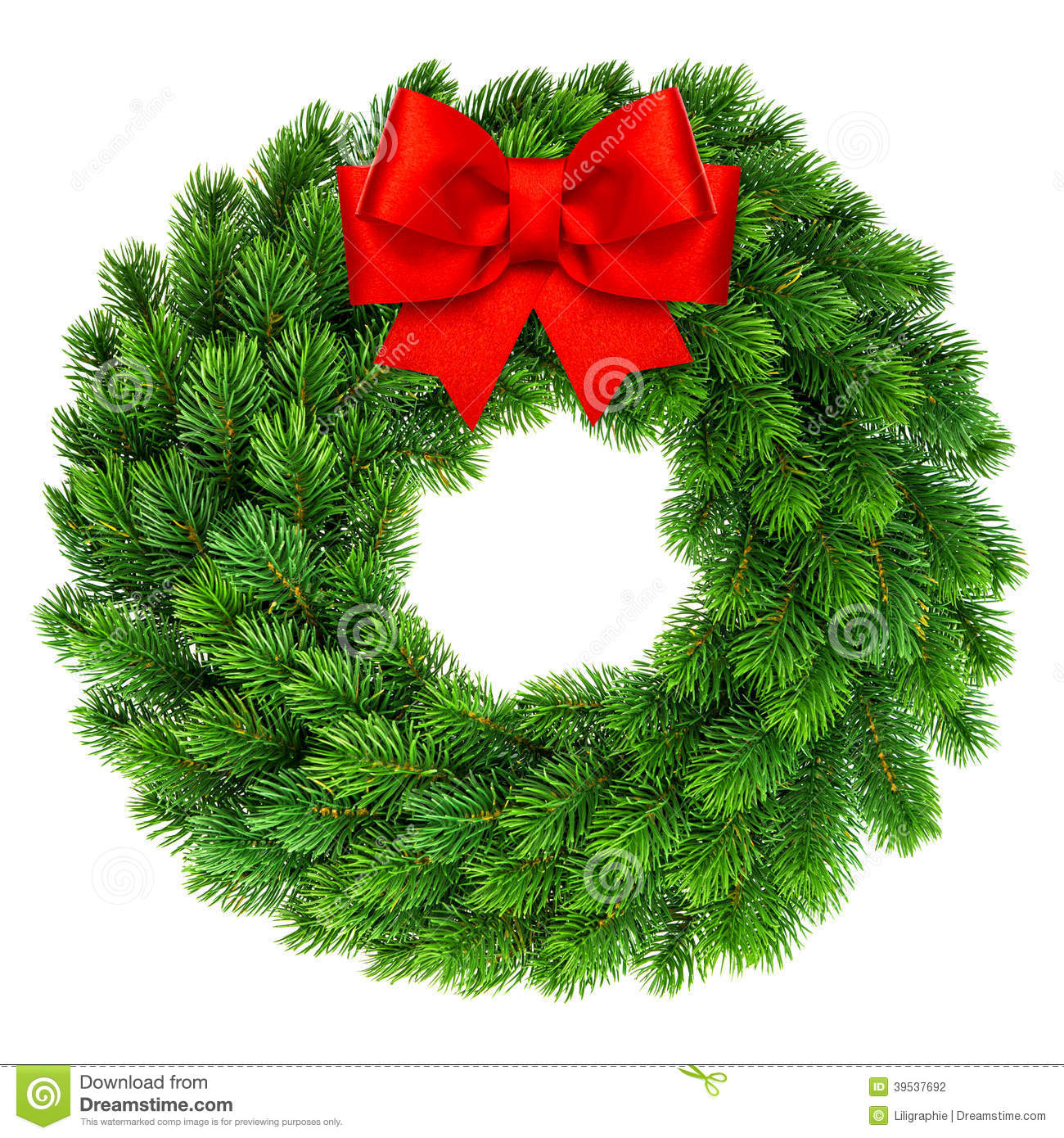 Royalty-Free Stock Photo. Download Christmas Wreath ...