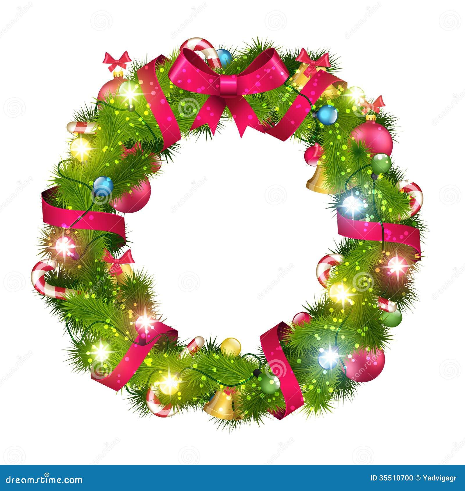 ... Christmas Garland Border , Christmas Garland Clip Art , Christmas