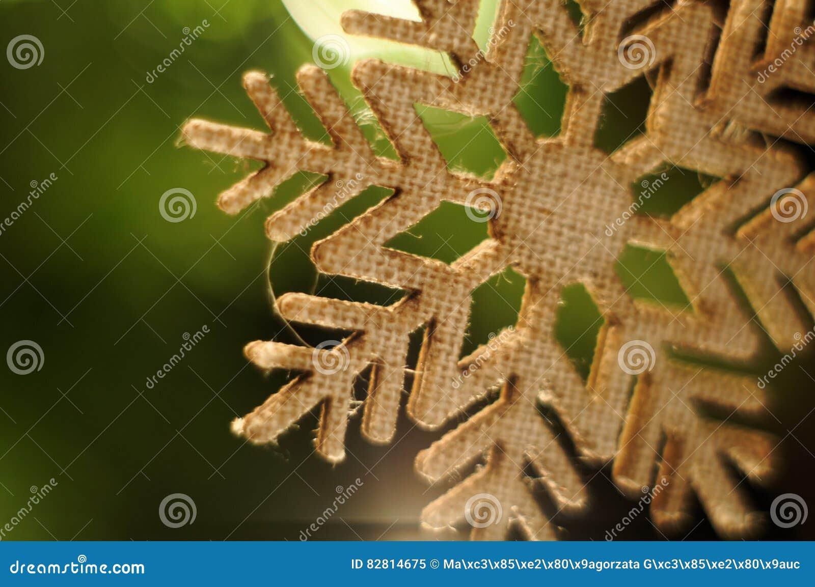 Christmass Tree Decoration. Stock Image - Image of orange ...