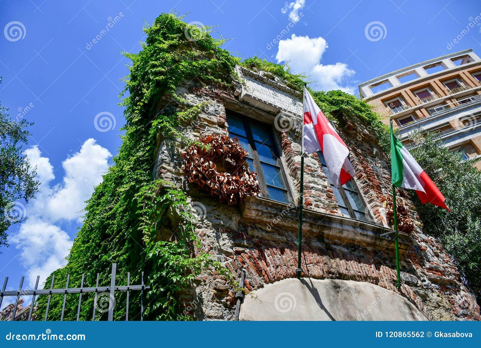 Christopher Columbus House en Génova, Italia